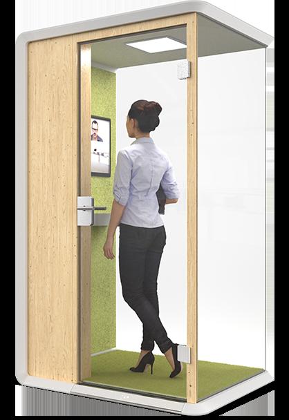 CAP Sarah - office phone booth